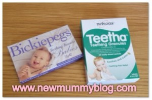 Help baby is teething biccies pegs and nelsons
