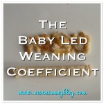 Baby led weaning coefficient