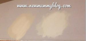 New mummy blog testing paint