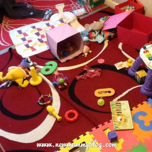 New Mummy Blog Messy house toys