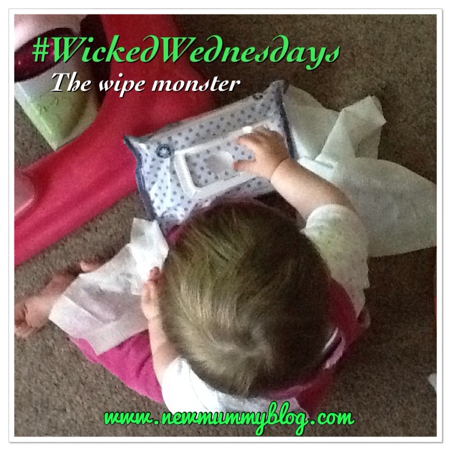 #wickedwednesdays the wipe emptying monster