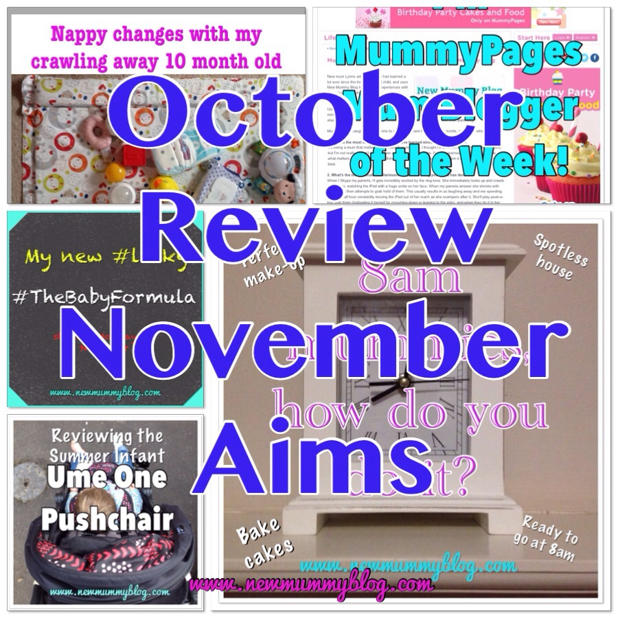 october review november bucket list