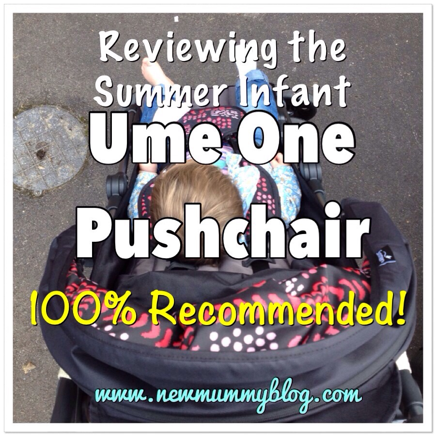 The Summer Infant Ume One is 100% recommended by New Mummy Blog