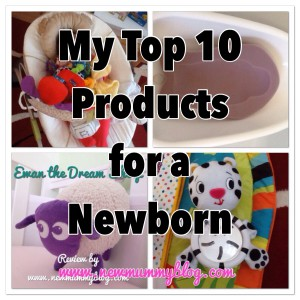 a mummy bloggers top 10 newborn products