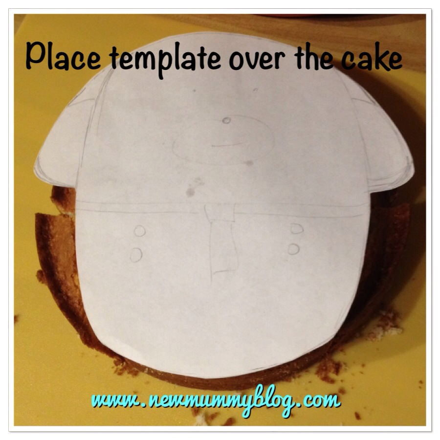 new mummy blog how to make a hey duggee cake