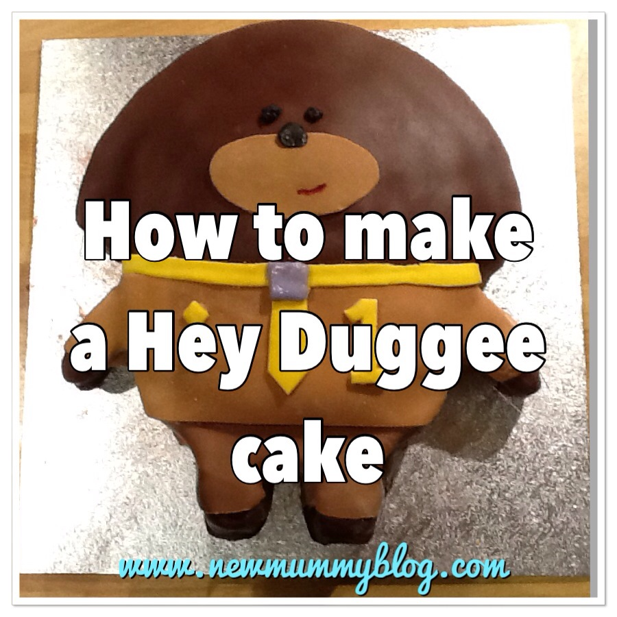 How to make Hey Duggee cake - step by step instructions for making a CBeebies Hey Duggee birthday cake - first birthday