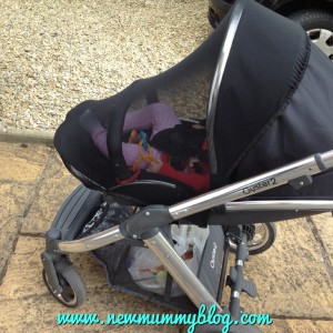 New Mummy Blog Pram