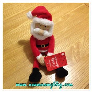 new mummy blog 5 under 5 - santa