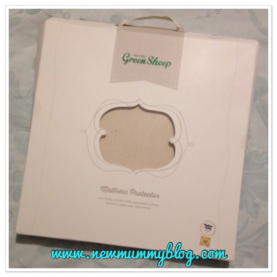 new mummy blog reviews the organic mattress protector fro The Little Green Sheep