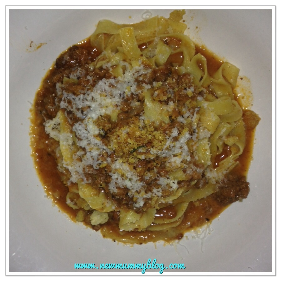 New mummy blog reviews Jamie's Italian super lunch tagliatelle