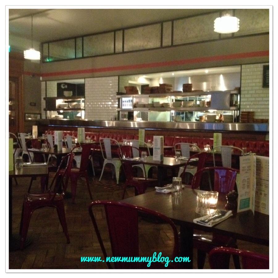 Inside Jamie's Italian Cheltenham