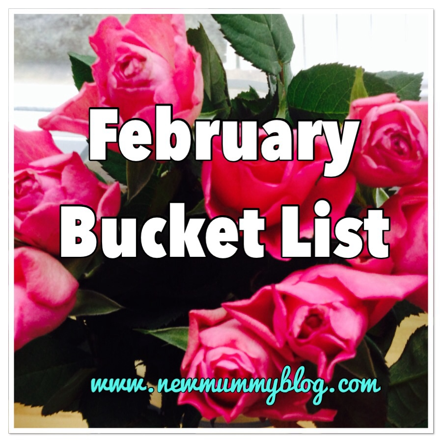 New mummy blog February bucket list and January review