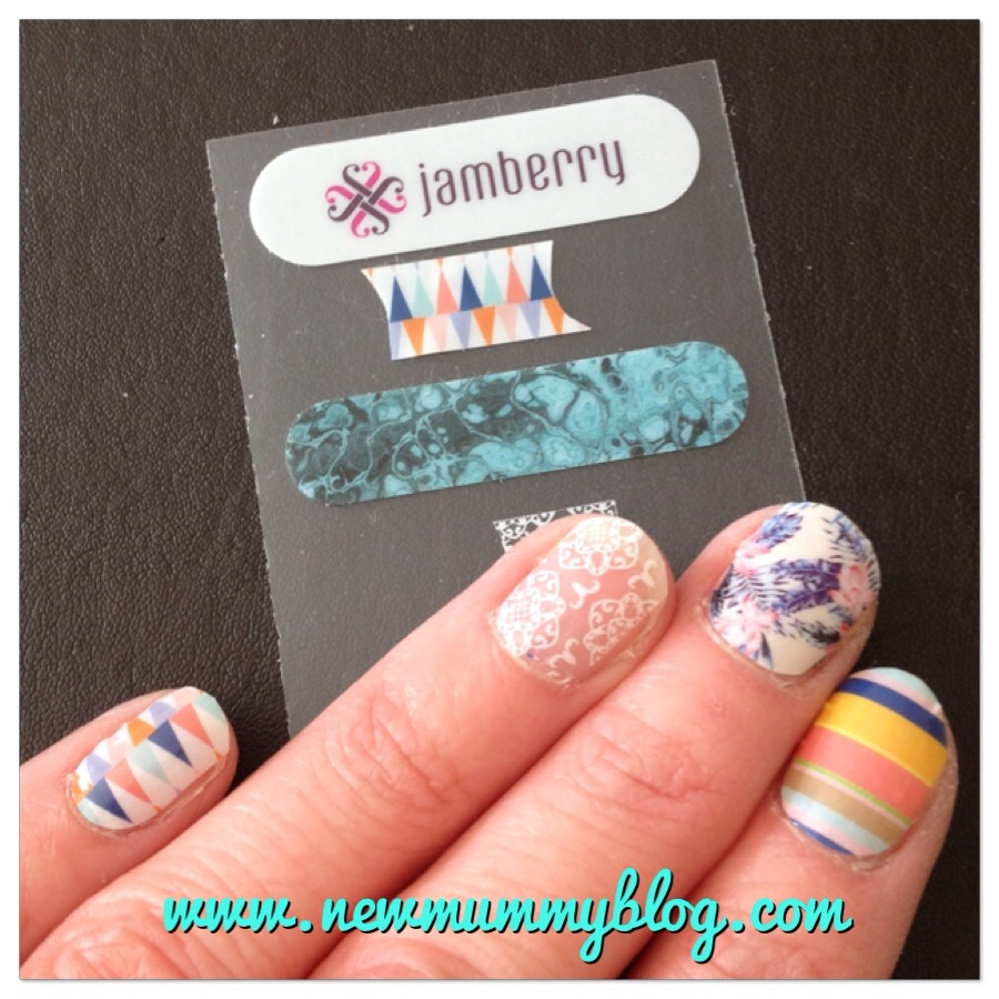 New Mummy Blog Jamberry Nails Lucy Mullen consultant