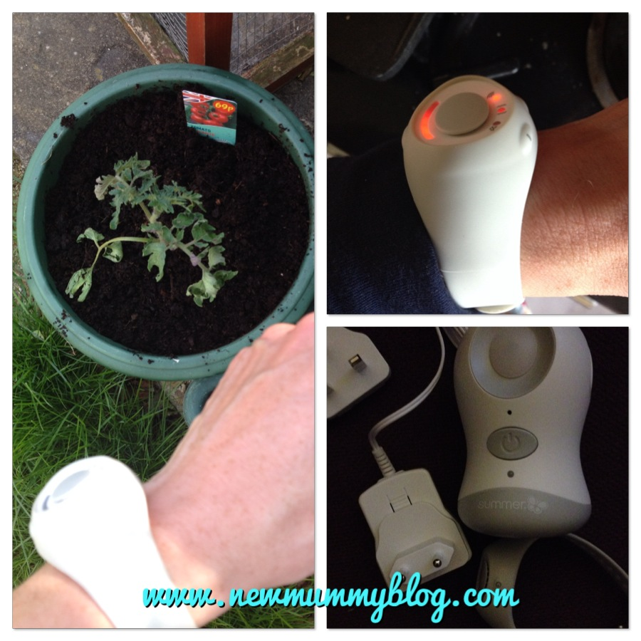 using the babble band outside, gardening, cooking, on holiday (European plug adapter supplied)