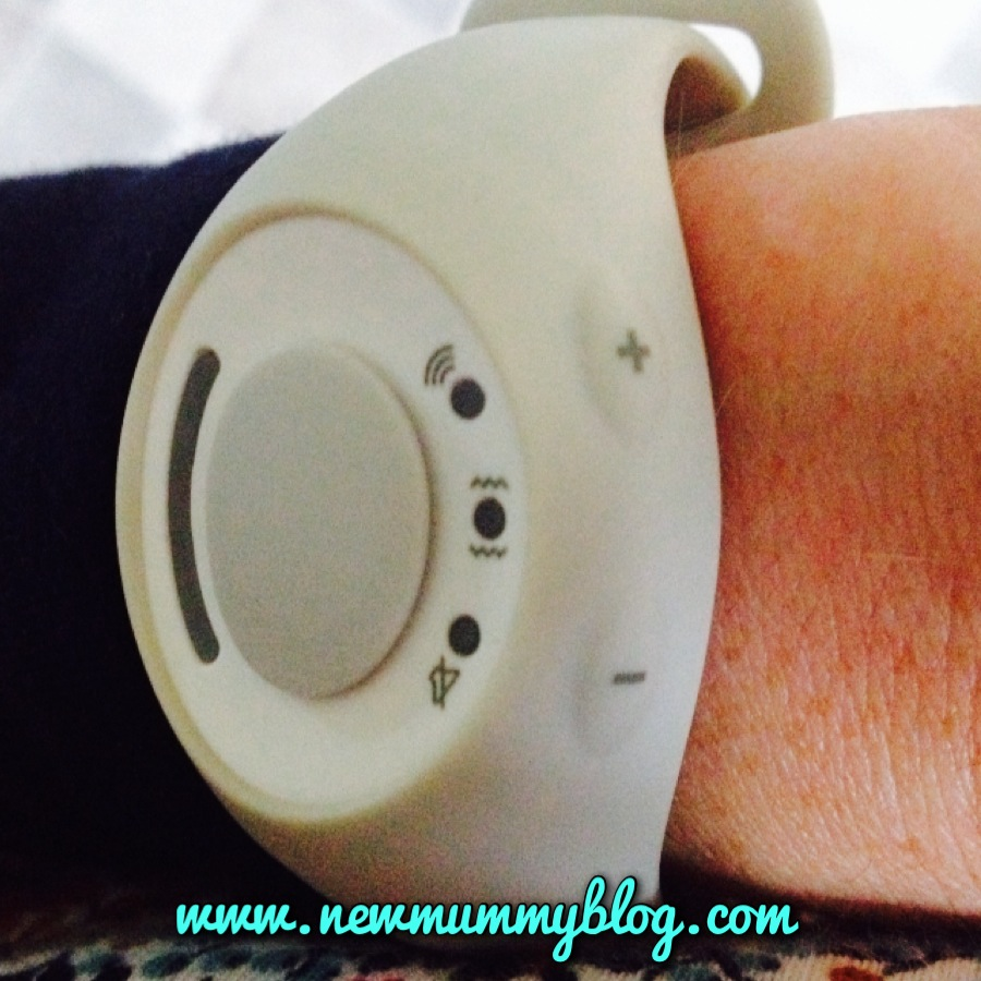 the buttons on the right of the babble band watch adjust the options/volume