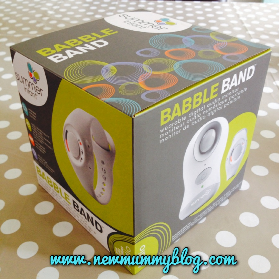 the babble band box as it arrived