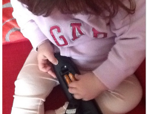#WicketWednesday remote control toddler danger