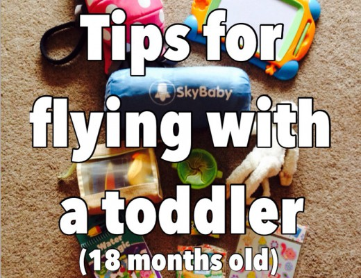 Tips for flying with toddlers (18 months) New Mummy Blog