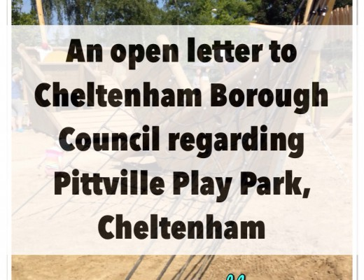 New Mummy Blog Open Letter to Cheltenham Borough Council - Pittville Park Cheltenham - New Play Park Facilities - Litter, toddlers