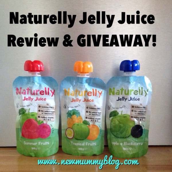 Naturelly Jelly Juice pouches for kids - New Mummy Blog