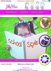 Jilly Mac Designs School Accessories poster - School Style range