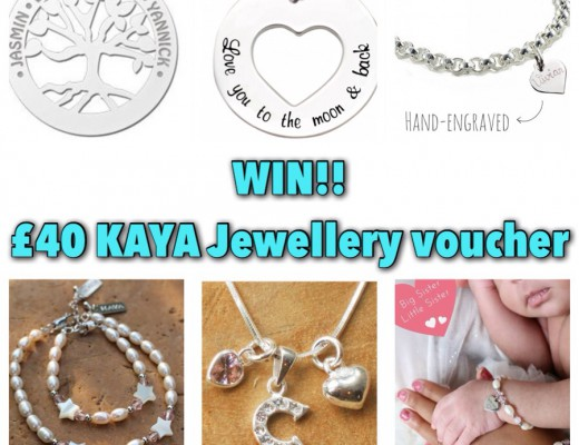KAYA Jewellery Giveaway examples of their products necklaces bracelets mummy and daughter sets