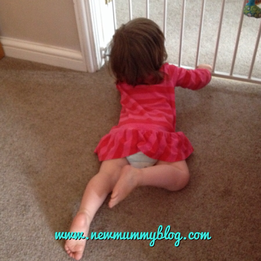 toddler tantrum on the floor