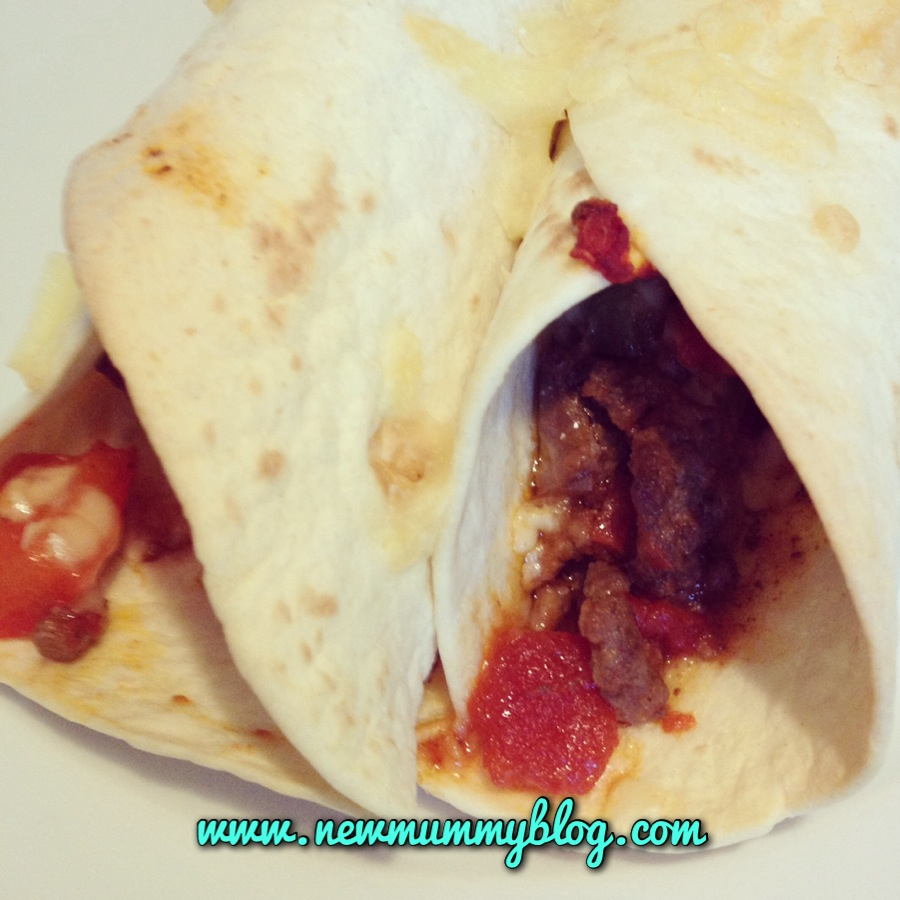 no sandwich lunches bolognese wraps