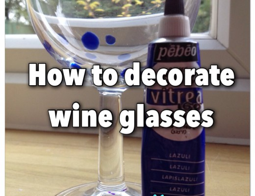 How to paint on glass using Pebeo Vitrea Outliner glass paint