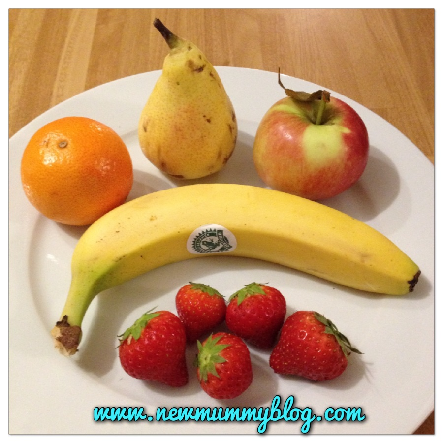 fruit which can be presented fun
