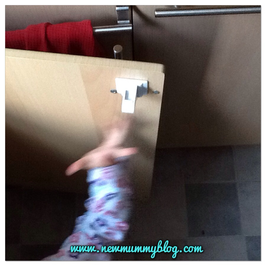 childproofing - the toddler getting the better of the magnetic childlocks