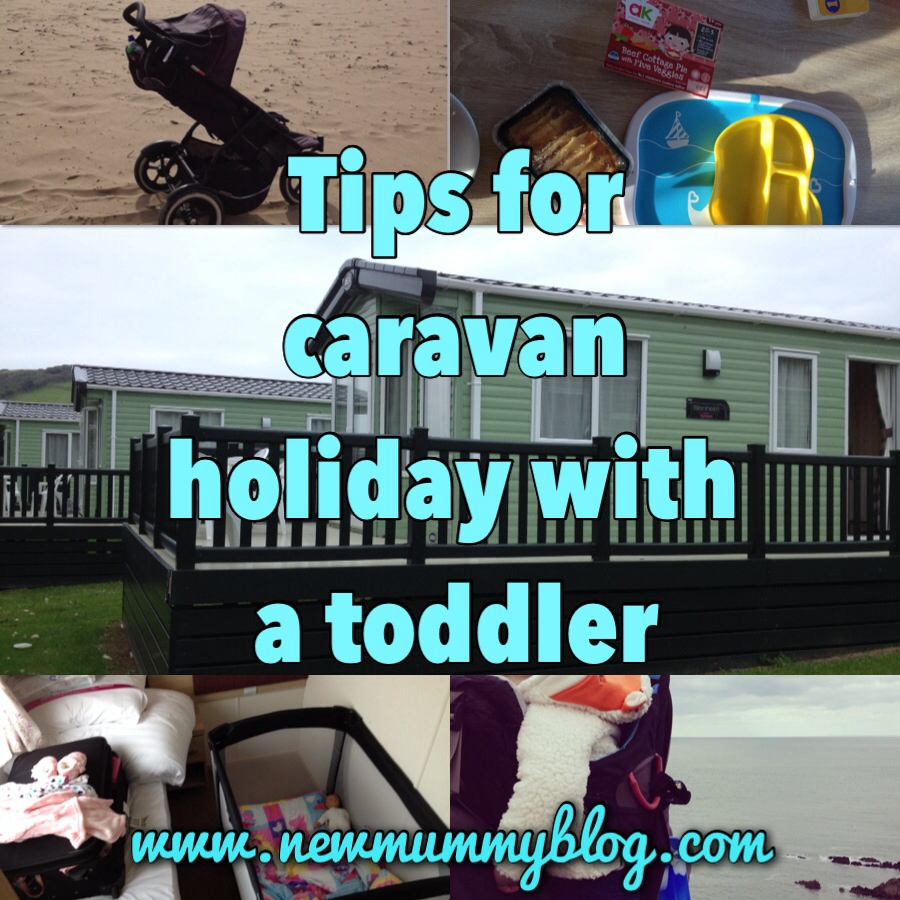 caravan holiday with a toddler