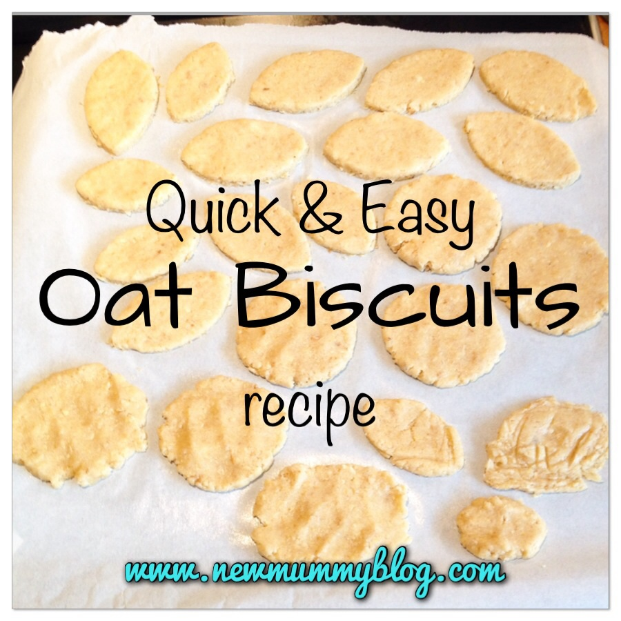 oat biscuits - Quick and Easy Oat Biscuit Recipe - New Mummy Blog