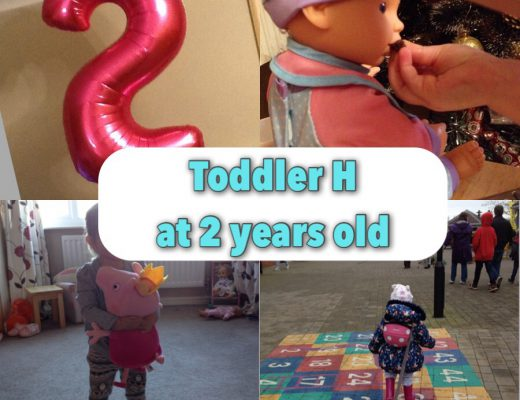 Real life with a two year old - by a SAHM, just turned two