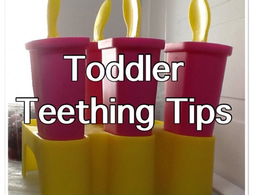 Toddler teething tips - ice lollies to soothe gums
