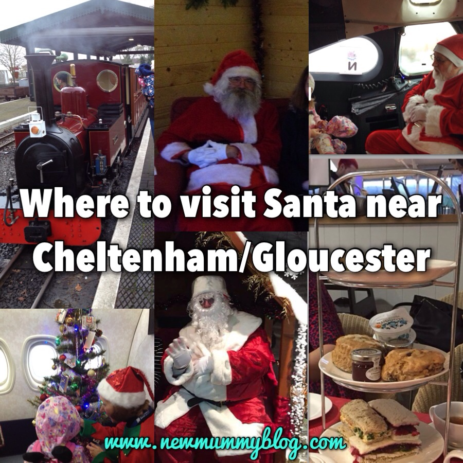 photos of visits to santa near cheltenham and gloucester - Wyevale Blooms Afternoon tea and Evesham Light Railway