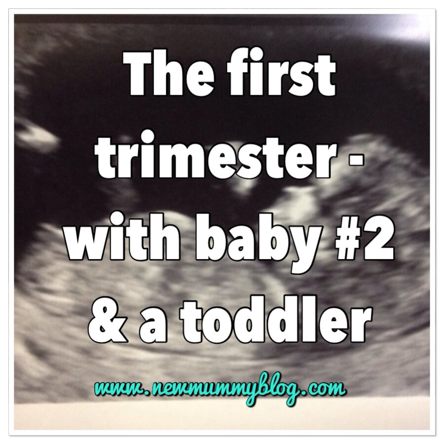 the first trimester with baby and a toddler