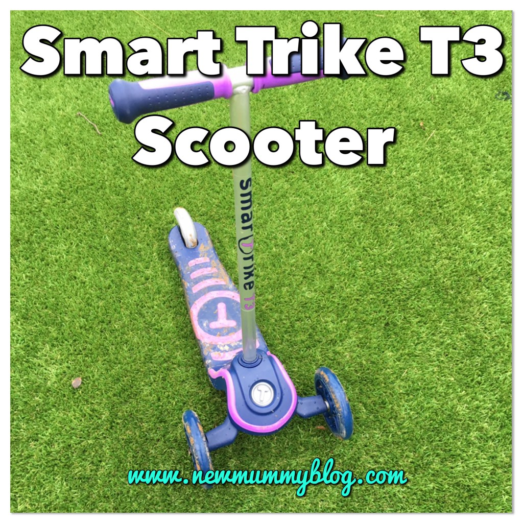 Smart trike scooter review - road testing the SmarTrike T3 scooter for age 2+
