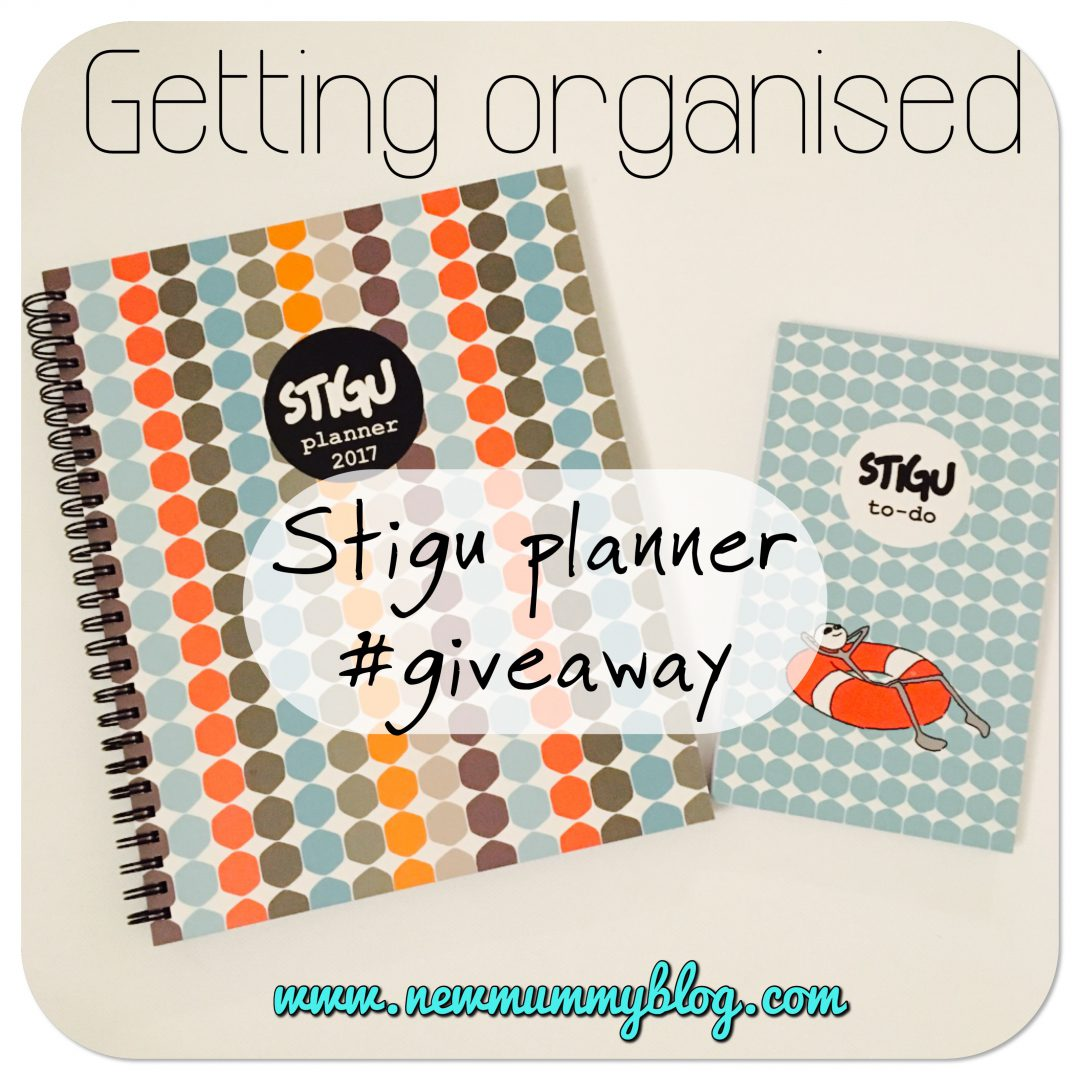 Stick to Stigu planner review giveaway - organising mummy and blog planning