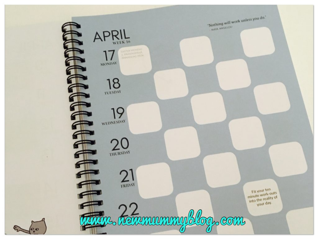 Easy to use practical planner