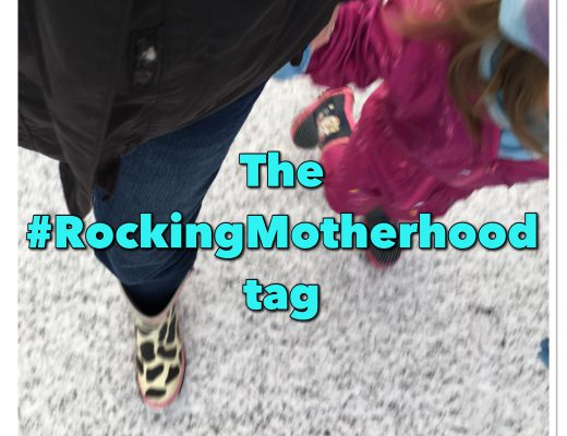 The Rocking Motherhood tag - Mummy and daughter in the snow