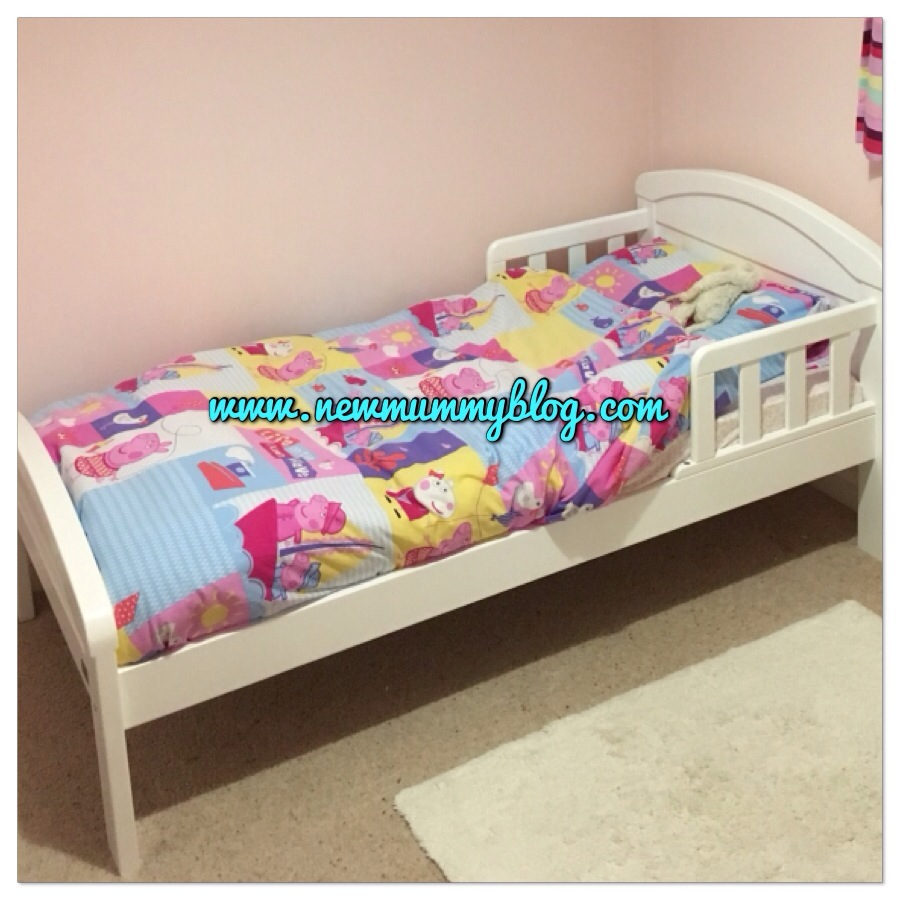 moving from a cot to a toddler bed