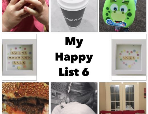 Happy list 6 - coffee travel potty crafts doors lunch dates