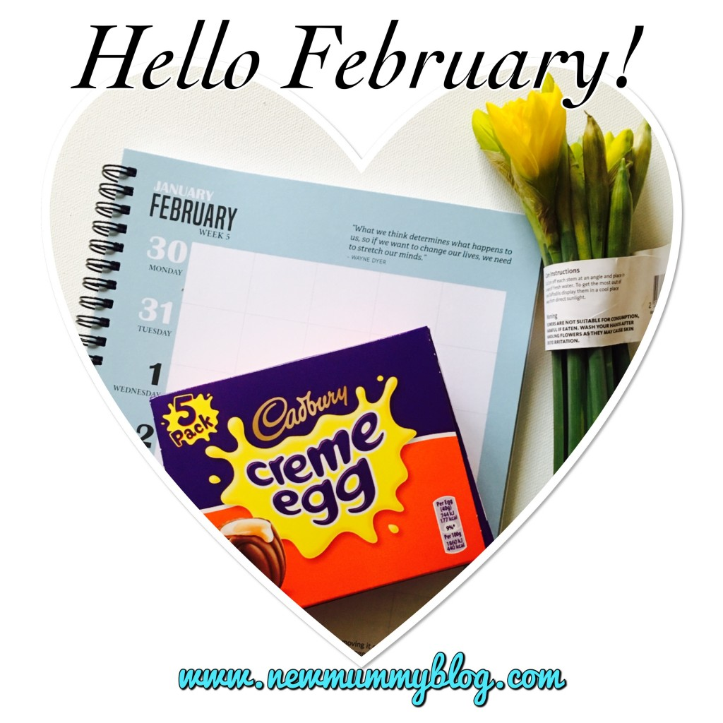 Creme eggs and daffodils for February
