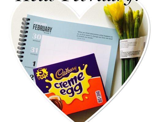 February - daffodils, creme eggs and goals