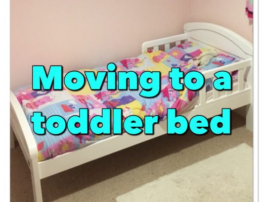moving to a toddler bed - outgrowing the cot - New Mummy Blog