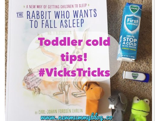 A few #vickstricks survival tips - a few bits and pieces to help- books, finger puppets, Vicks first defence,