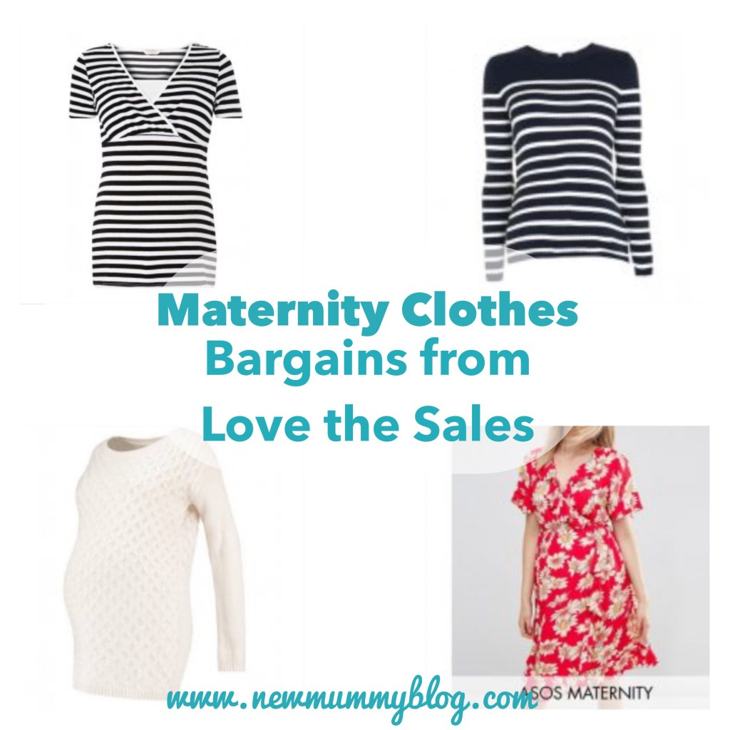 Maternity clothes - sales - cheap from Love the Sales - New Mummy Blog shopping - top shop, GAP, new look, ASOS stripy jumper