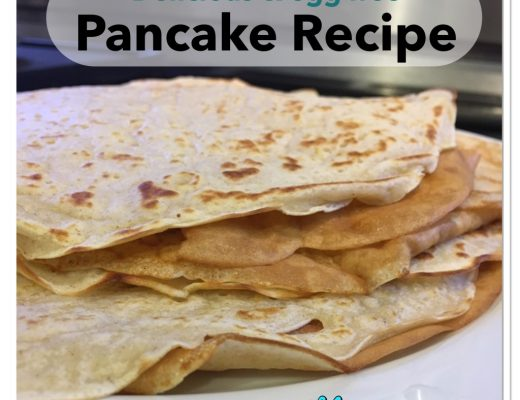 Egg free pancake recipe - easy delicious store cupboard ingredients