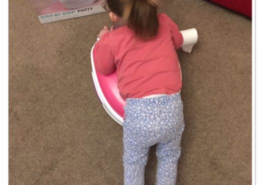 Review Potty Summer Infant Step by Step potty pink toddler loves it
